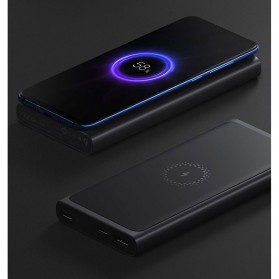 Xiaomi Qi Wireless Charging Power Bank USB Type C 10000mAh - PLM11ZM (ORIGINAL) - Black - 8