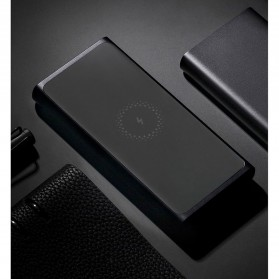 Xiaomi Qi Wireless Charging Power Bank USB Type C 10000mAh - PLM11ZM (ORIGINAL) - Black - 9
