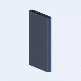 Xiaomi Power Bank 3 QC3.0 2 Port 18W 10000mAh - PLM13ZM (ORIGINAL) - Black - 6