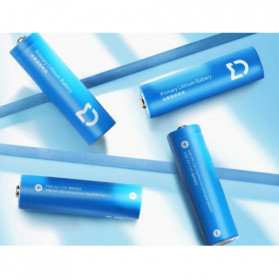 Xiaomi Mijia Super Battery Alkaline AA 4 PCS - Blue