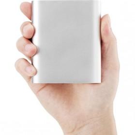 Xiaomimi Power Bank 10400mAh (BULK PACKING) - Silver - 2