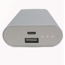 Xiaomimi Power Bank 5200mAh - Silver - 2