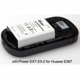 eXt-Power Extended Battery 4500mAh for Huawei E587 (HB5A5P2) - EXT-E5-2 - Black - 2