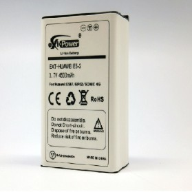 eXt-Power Extended Battery 4500mAh for Huawei E587 (HB5A5P2) - EXT-E5-2 - Black - 6