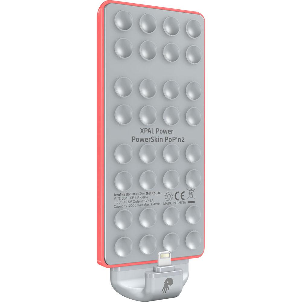 Powerskin Popn 2 Lightning Plug For Iphone 4000 Mah Red Lampu Senter Kecil 9 Led Sj0020
