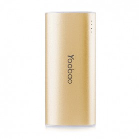 Yoobao Magic Wand Power Bank 5200mAh - YB-6012 (Super Copy) - Golden