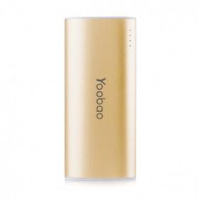Yoobao Magic Wand Power Bank 5200mAh - YB-6012 - Golden