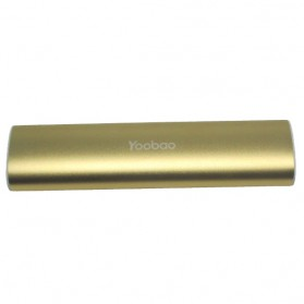 Yoobao Magic Wand Power Bank 10400mAh - YB-6014 (Super Copy) - Golden