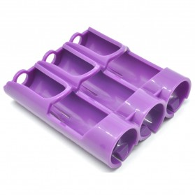 Efest PC3 Battery Holder 3 Slot for 18650 Battery - Purple