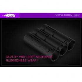 Efest PC3 Battery Holder 3 Slot for 18650 Battery - Purple - 6