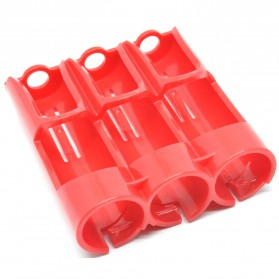 Efest PC3 Battery Holder 3 Slot for 18650 Battery - Red
