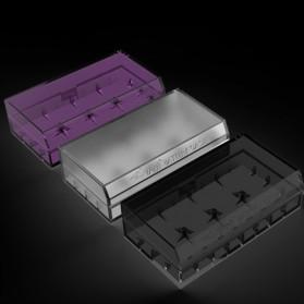 Efest Battery Case for 2x18650 / 4x18350 - H2 - Black - 3