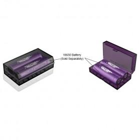 Efest Battery Case for 2x18650 / 4x18350 - H2 - Black - 4