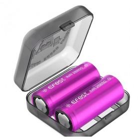 Efest Batteryman Transparent Battery Case for 2x26650 - Transparent - 5