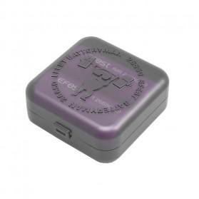 Efest Batteryman Transparent Battery Case for 2x26650 - Transparent - 6