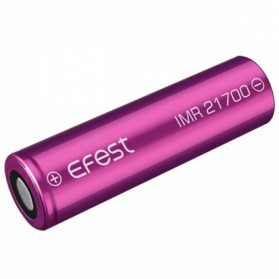 Efest Purple IMR 21700 Li-Mn Battery 5000mAh 3.7V 10A with Flat Top - Purple