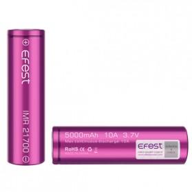 Efest Purple IMR 21700 Li-Mn Battery 5000mAh 3.7V 10A with Flat Top - Purple - 3
