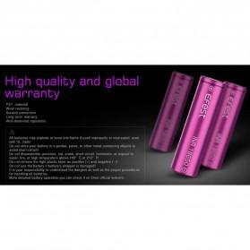 Efest Purple INR 18650 Li-Mn Battery 2600mAh 3.6V 25A with Flat Top - Purple - 5