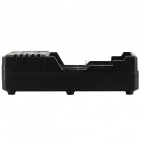 Efest BIO V2 Charger Baterai Dual Slot for 18650 / 18500 / 10440 - Black - 3