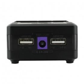 Efest BIO V2 Charger Baterai Dual Slot for 18650 / 18500 / 10440 - Black - 4