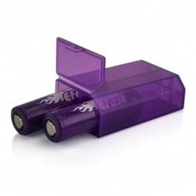Efest L2 Battery Case for 2x18650 / 4x18350 - Purple