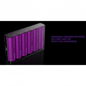 Efest H6 Battery Case for 6 x 18650 - Purple - 2