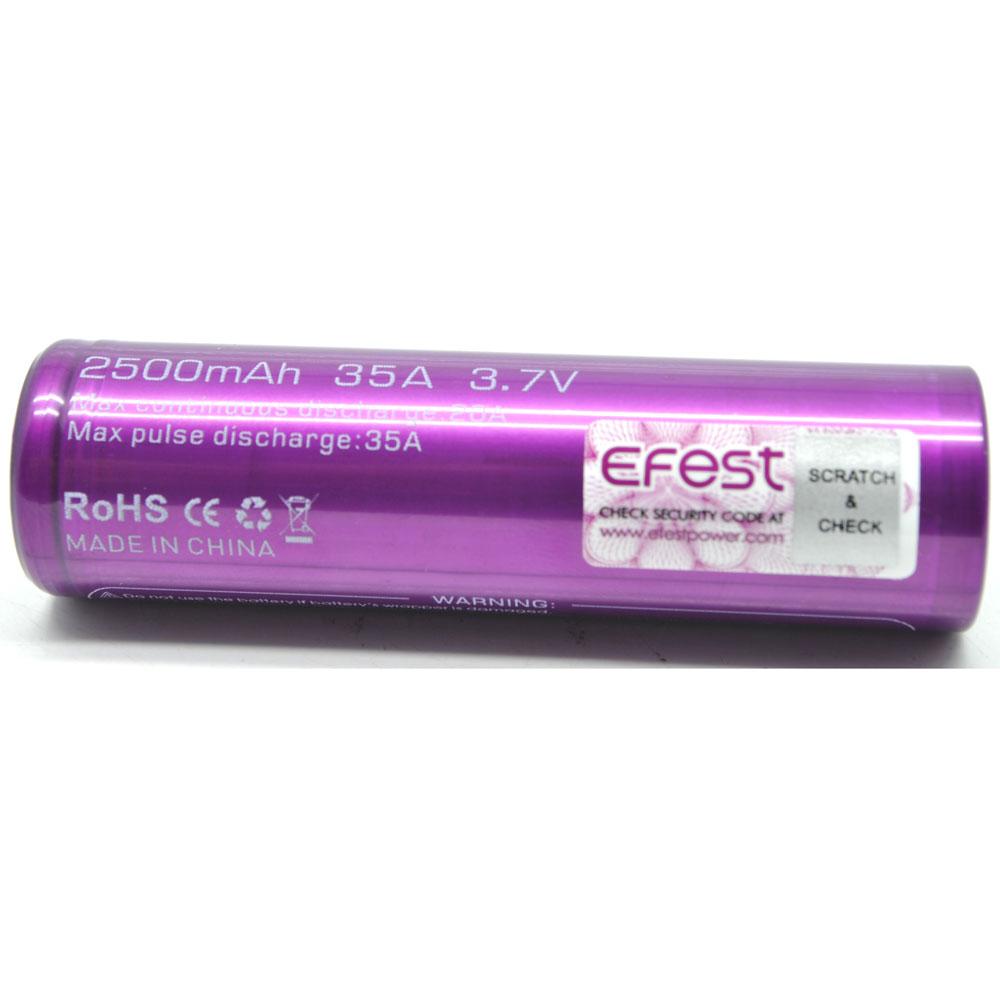 Efest Terlengkap Murah Se Indonesia Panasonic Ncr 18650 Li Ion Battery 3400mah 37v 30a With Flat Top Baterai Purple Imr Mn 2500mah 35a