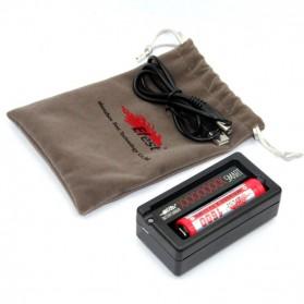 Efest XSmart Universal Single Battery Charger - Black - 5