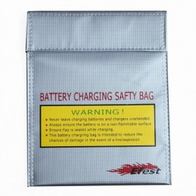 Efest LiPo Safety Charging Bag - Big Size - Silver