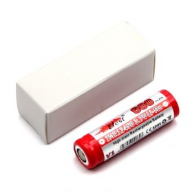 Efest IMR 13450 Li-Mn Battery 600mAh 3.7V with Flat Top - 13450V1 - Red