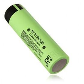 Panasonic NCR18650B Li-ion Battery 3400mAh 3.6V 30A with Flat Top - Green - 2