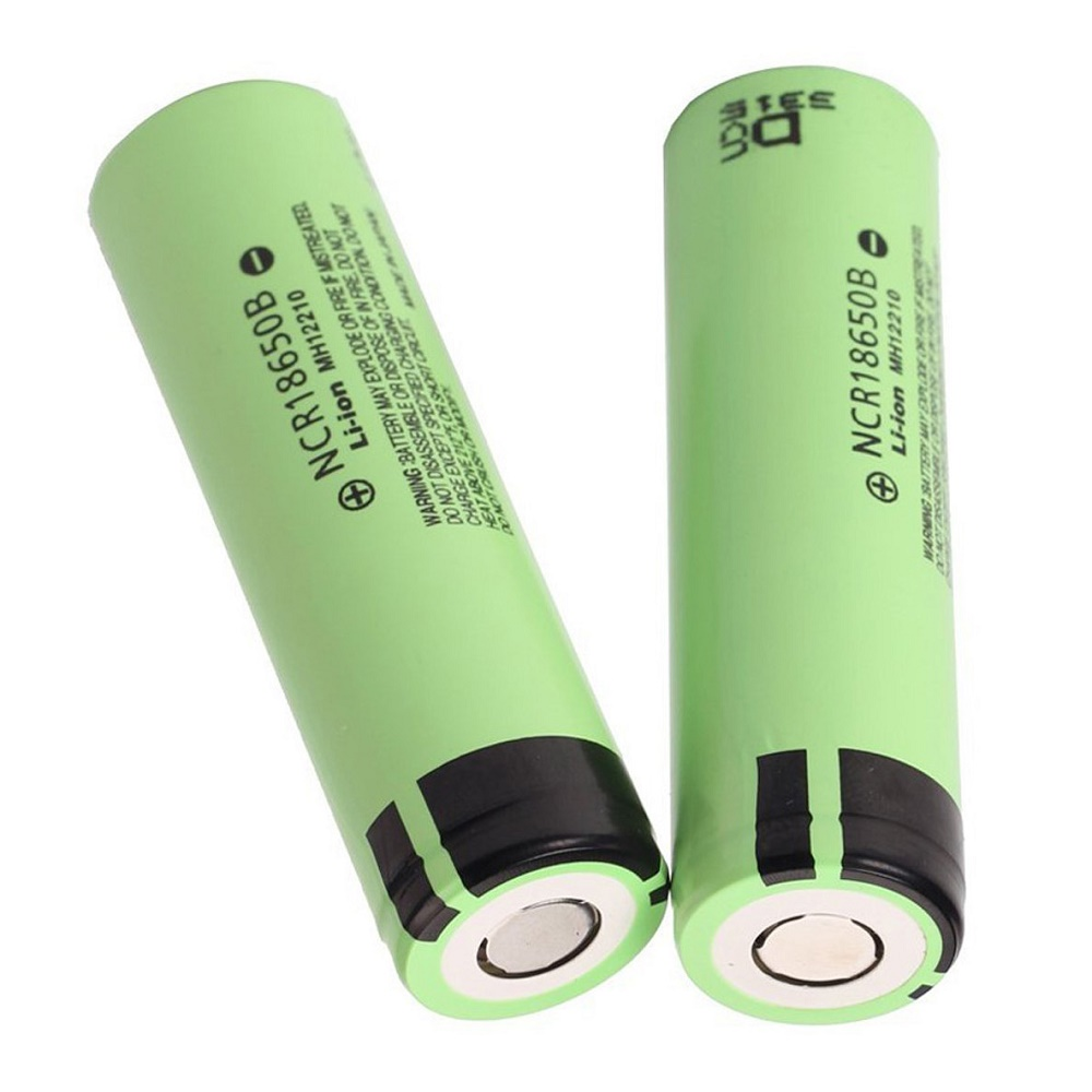 Panasonic Ncr18650b Li Ion Battery 3400mah 3 6v 30a With