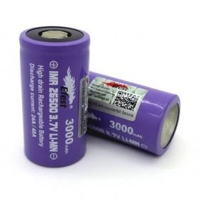 Efest Purple IMR 26500 Li-Mn Battery 3000mAh 3.7V 24A/48A with Flat Top - Purple