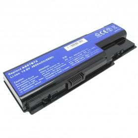 Baterai Acer Aspire 5315 5520G 5710G 7720G 5920G Part No AS07B72 Lithium-ion (Replika 1:1) - Black - 3