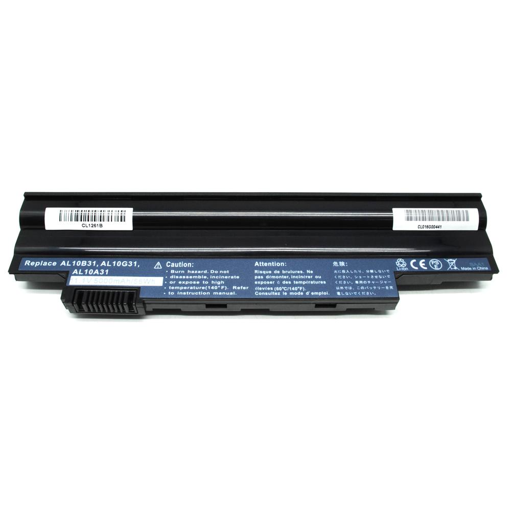 Baterai Acer Aspire One 522 D255 722 D260 High Capacity Oem Adaptor Charger Laptop 532h D257 532 725 Black