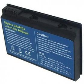 Baterai Acer Extensa 5210 5220 5420G 5620Z 5630 7220 7620 Travelmate 5220 5230 5310 5320 5520 5530 5710 5720 6592 7220 7320 7520 7720 Standard Capacity (OEM) - Black - 2