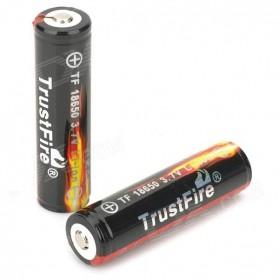 TrustFire 18650 Li-ion Battery 2400mAh 3.7V - Black