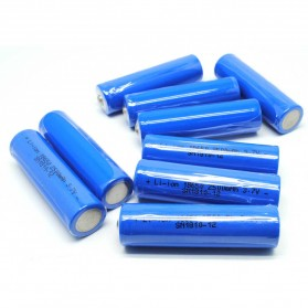 Baterai Li-ion 18650 2500mAh 3.7V Button Top - SN1810-12 - Blue - 4