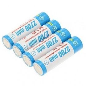 TrustFire Baterai AA Rechargeable Ni-Mh 2700mAh 1.2V 4 PCS - Blue - 2