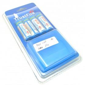 TrustFire Baterai AA Rechargeable Ni-Mh 2700mAh 1.2V 4 PCS - Blue - 3