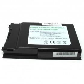 Baterai Fujitsu LifeBook T1010 T1010LA T4310 T4410 T5010 T5010A T5010ALA T5010W T730 T730TRNS T900 TH700 Standard Capacity (OEM) - Black