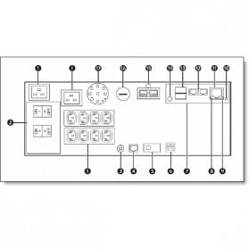 IBM UPS5000 HV 5kVA 4.5kW Rack-Mount Uninterruptible Power Supply - 24195KX - Black - 7