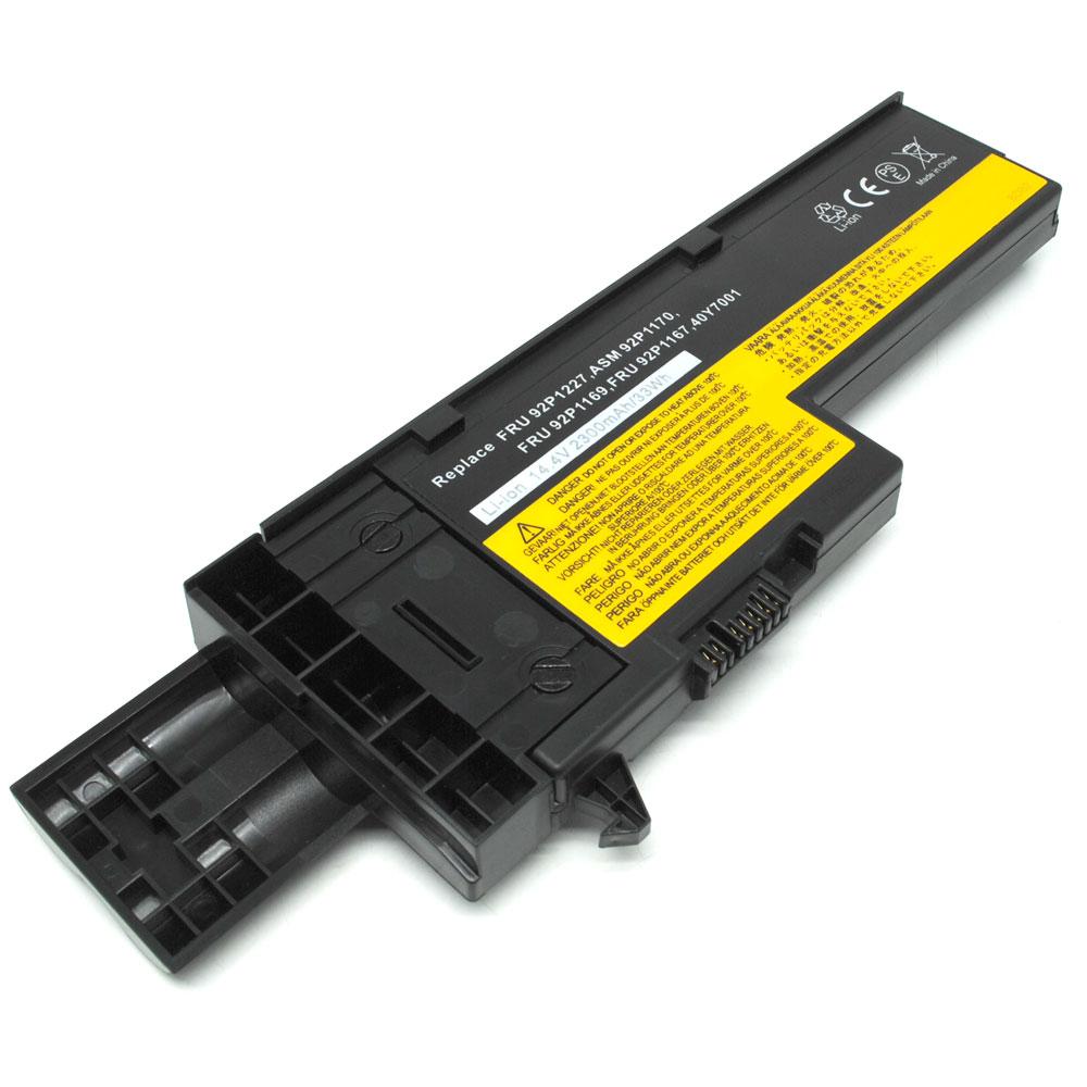 Baterai Lenovo Thinkpad X60 X61 X61s Standard Capacity Oem Black Panasonic Ncr 18650 Li Ion Battery 3400mah 37v 30a With Flat Top 2