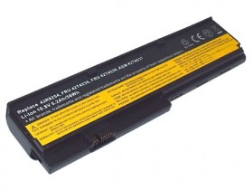 Baterai IBM Lenovo ThinkPad X200 X201 Lithium Ion High Capacity 4600mAh (OEM) - Black