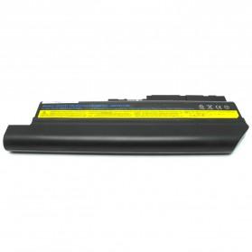 Baterai Lenovo thinkPad R61 R61e R61i T500 T61 T61P R500 W500 R60 R60e R61 R61e R61i T60 T60p T61 T61p Z60m Z61e Z61m Z61p High Capacity Lithium Ion (OEM) - Black - 1