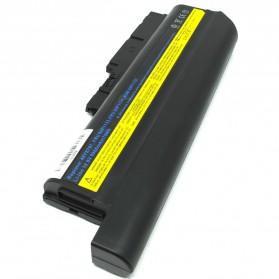 Baterai Lenovo thinkPad R61 R61e R61i T500 T61 T61P R500 W500 R60 R60e R61 R61e R61i T60 T60p T61 T61p Z60m Z61e Z61m Z61p High Capacity Lithium Ion (OEM) - Black - 2