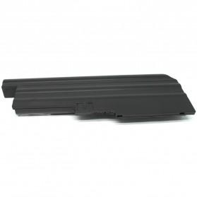Baterai Lenovo thinkPad R61 R61e R61i T500 T61 T61P R500 W500 R60 R60e R61 R61e R61i T60 T60p T61 T61p Z60m Z61e Z61m Z61p High Capacity Lithium Ion (OEM) - Black - 3