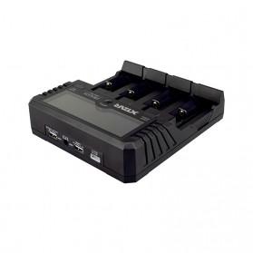 XTAR VP4 Plus Dragon Charger Baterai - Black