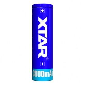 Xtar 18650 Baterai Li-ion 3000mAh 3.6V - Blue