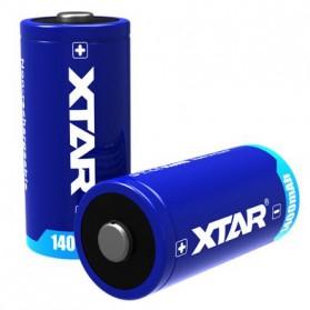 Xtar CR123A Baterai Li-ion 1400mAh 3V - Blue